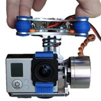 2 Axis Brushless Gimbal With BGC2.2 Controller For GoPro 2 3 4 for RC Drone [908068]