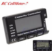 CellMeter-7 Digital Battery Capacity Checker LiPo LiFe Li-ion NiMH Nicd